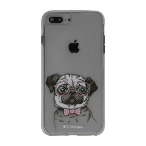 Boomtique Nerdy Pug for iPhone XR