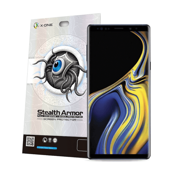 X-One Stealth Armor Full Coverage + Shock Protection Screen Protector