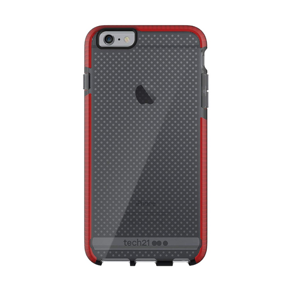 Tech21 Smoke Red Evo Mesh For iPhone 6/6s