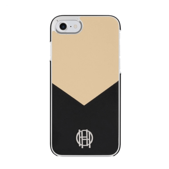 House of Harlow 1960 Black & Camel Case for iPhone 7/8/SE (2020)
