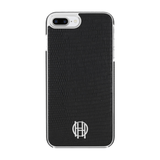 House of Harlow 1960 Black Lizard/Silver Metallic Case for iPhone 7/8/SE (2020)
