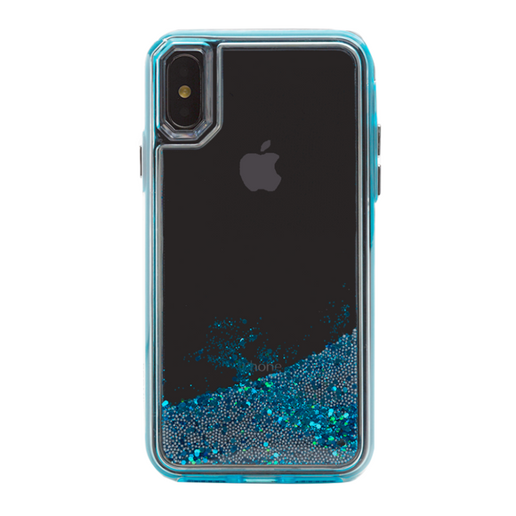 Boomtique Waterfall Aqua for iPhone X/Xs