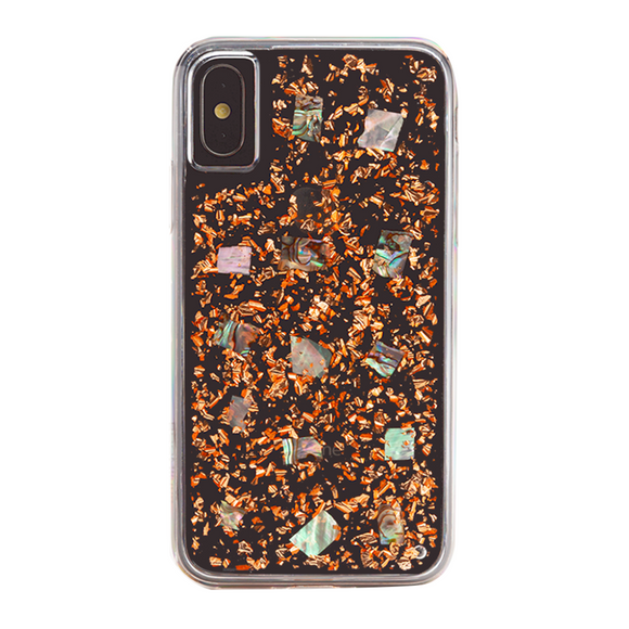 Boomtique Mother of Pearl Rose Gold for iPhone Xs Max