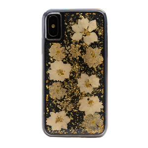 Boomtique Karat Petals White for iPhone X/Xs