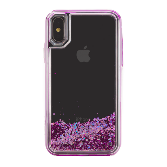 Boomtique Waterfall Purple for iPhone X/Xs