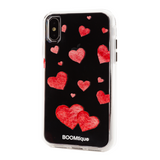 Boomtique Red Hearts for iPhone Xs Max
