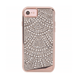 Case-Mate Brilliance Lace Rose Gold Pearl Crystal Case For iPhone 6/6s/7/8