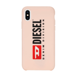 Diesel Printed Co-Mold Seasonal Pink Case for iPhone X/Xs