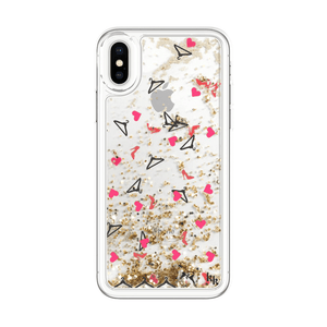 Kendall + Kylie Heels Liquid Glitter Case For iPhone X/Xs
