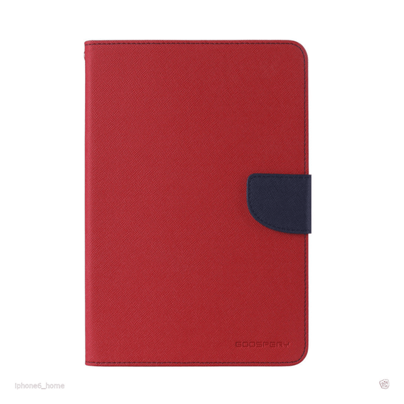 Goospery Mercury Red Fancy Diary Case For iPad Pro 10.5/iPad Air 2019