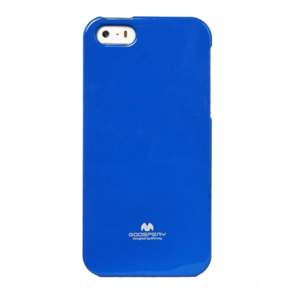 Goospery Mercury Blue Jelly Case for iPhone 5/5S/SE (2016)