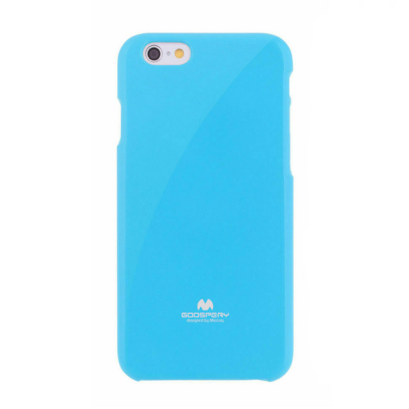 Goospery Mercury Blue Pearl Jelly Case for iPhone 7+/8+