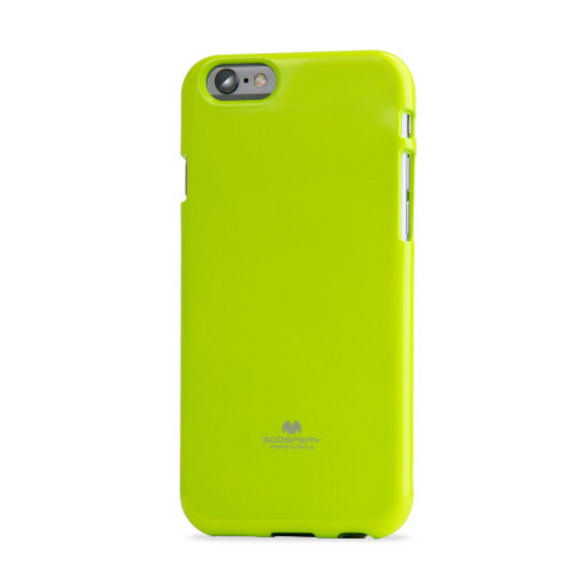 Goospery Mercury Lime Green Pearl Jelly Case for iPhone 7+/8+