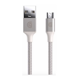 Griffin Reversible USB Charge/Sync Cable with Micro-USB Connector Silver
