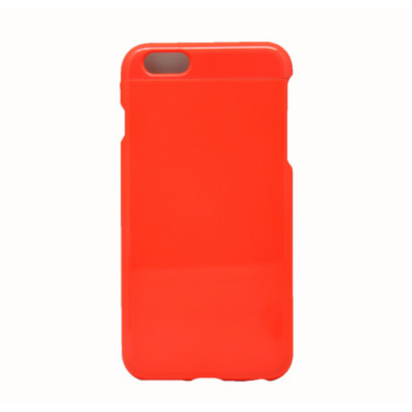 Invy Glossy Fluro Orange Case for iPhone 6+/6s+/7+/8+