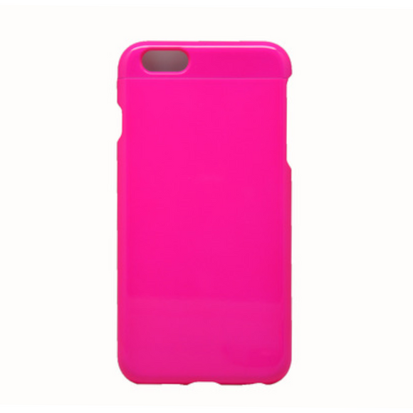 Invy Glossy Fluro Pink Case for iPhone 6+/6s+/7+/8+