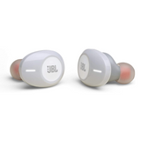 JBL Tune 120TWS Pure Bass Zero Cables White Earbud Headphones