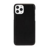 Coach Black Logo Leather Wrap Case for iPhone 11 Pro Max