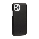 Coach Black Logo Leather Wrap Case for iPhone 11 Pro