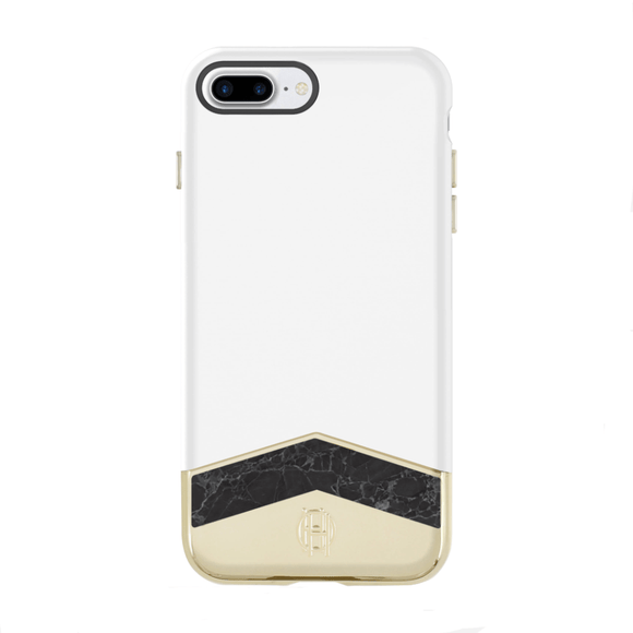 House of Harlow 1960 Marble Slider Case for iPhone 7/8/SE (2020)