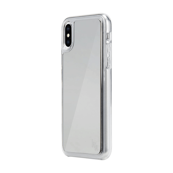 Kendall + Kylie Silver Mirrored Case For iPhone X/Xs
