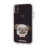 Boomtique Nerdy Pug for iPhone Xs Max