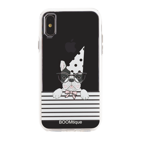 Boomtique Party Pug for iPhone X/Xs