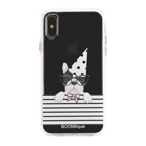 Boomtique Party Pug for iPhone Xs Max