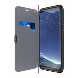 Tech21 Evo Wallet Black Case for Samsung Galaxy S8+