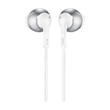 JBL Tune 205 Chrome Earbud Headphones