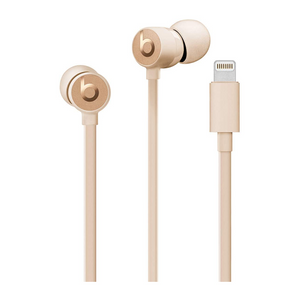 Beats by Dr. Dre urBeats3 Earphones with Lightning Connector Satin Gold