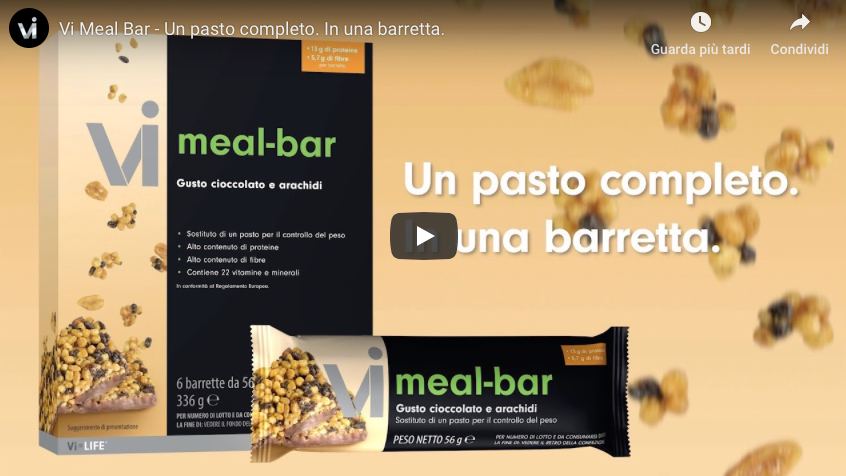Vi Meal Bar - Un pasto completo. In una barretta.