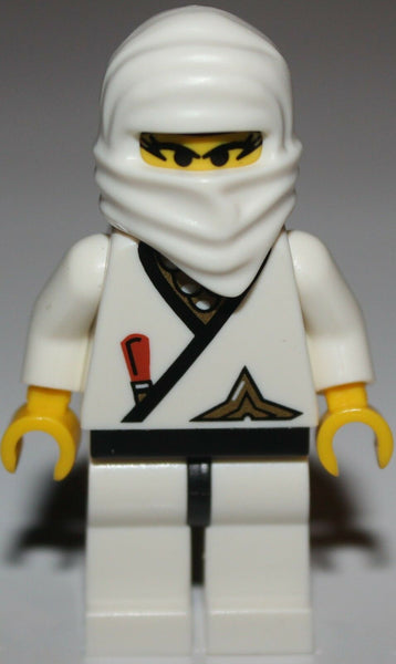 Lego White Ninja Princess Minifig Belt w/ Gold Star NEW