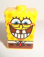 LeGo Sponge Bob Head Modified w/ Bottom Teeth Pattern
