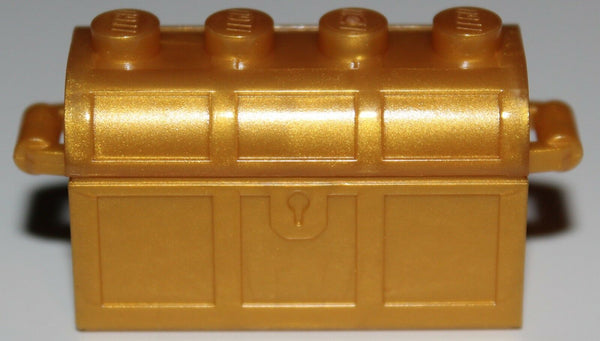 Lego Castle Container Pearl Gold Treasure Chest Slots