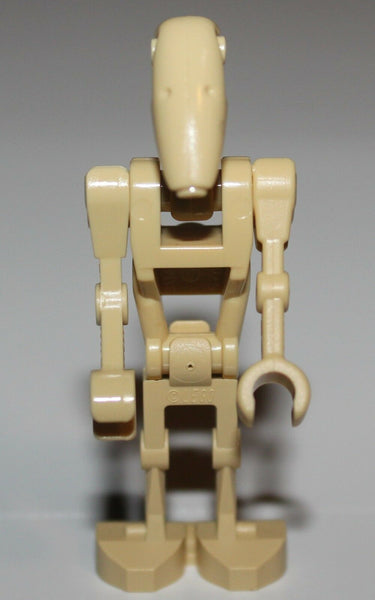 Lego Star Wars Tan Battle Droid Minifig w/ Staight Arm NEW