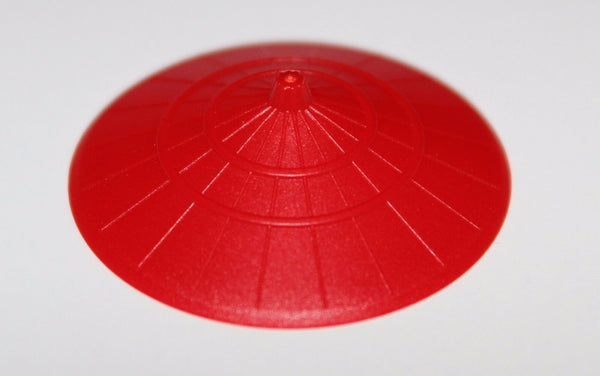 Lego 2x Ninjago Red Minifig Headgear Hat Conical Asian NEW
