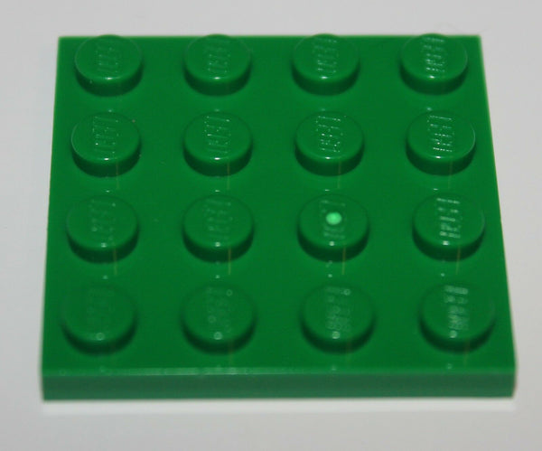 Lego 6x Green Plate 2 x 2 NEW