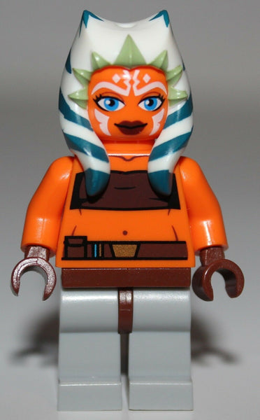 Lego Star Wars Ahsoka Orange Minifig Clone Wars NEW