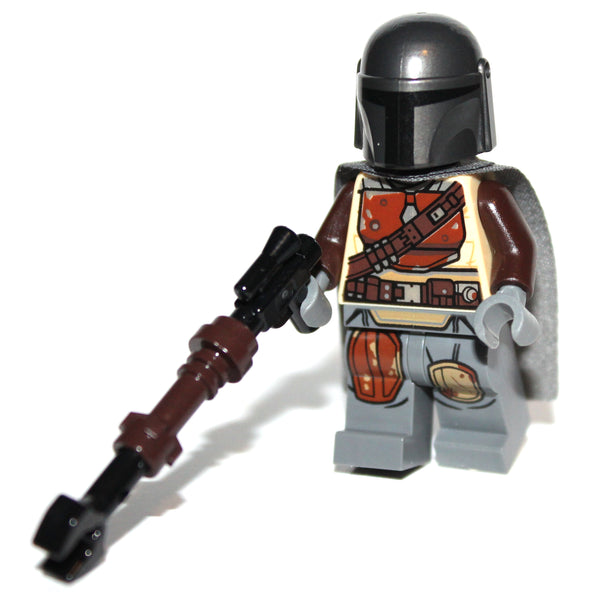 Lego Star Wars The Mandalorian Din Djarin Minifig w/ Blaster Weapon NEW