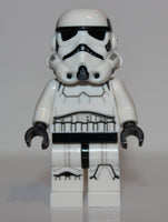Lego Star Wars Stormtrooper Dual Molded Helmet Gray Squares on Back