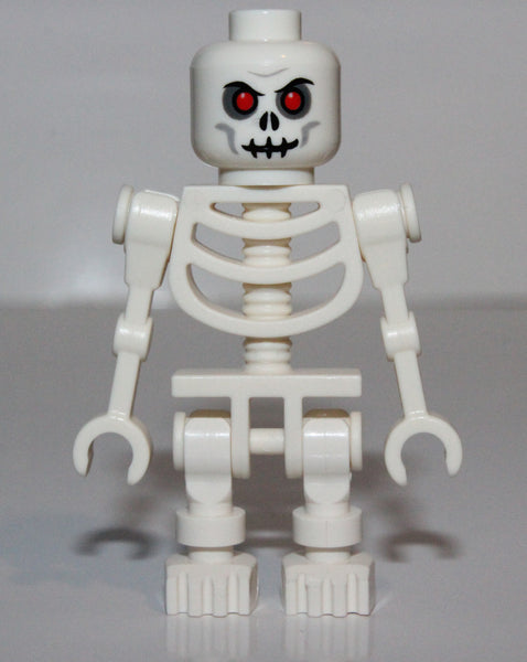 Lego Castle Fantasy Era Skeleton Warrior 2 White Undead Soldier