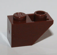 Lego 20x Reddish Brown Slope Inverted 45 2 x 1