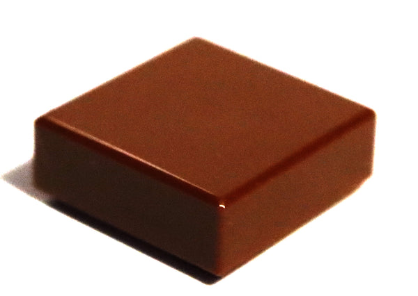 Lego 20x Reddish Brown Tile 1 x 1