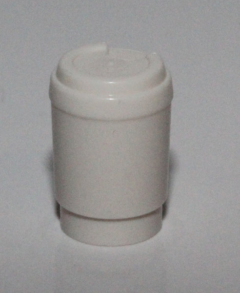 Lego White Minifig Utensil Cup Take Out Cup