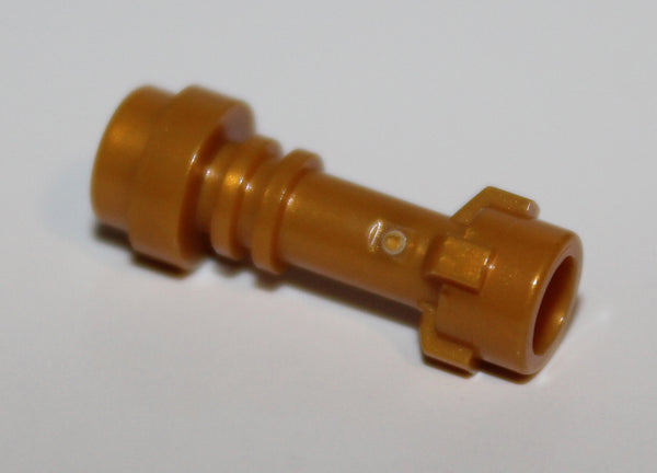 Lego 2x Pearl Gold Minifig Weapon Lightsaber Hilt Straight