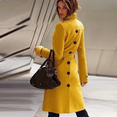 New Fashion Long Trench Coat For Women