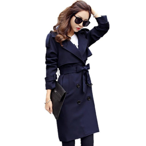 New Women Casual Coats Spring Autumn Fashion