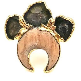 ELLARIA RING (Wood)