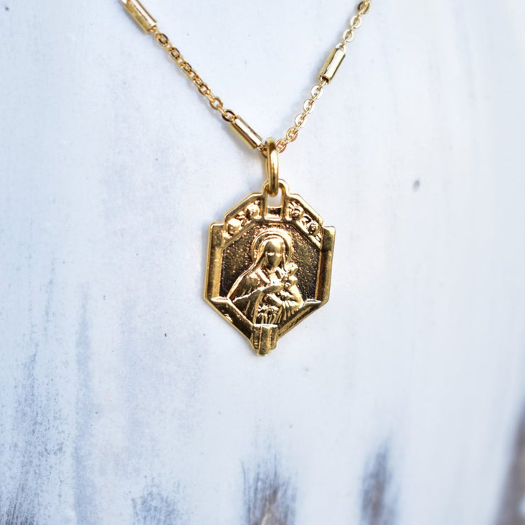 SAINT CATHERINE NECKLACE